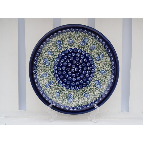 a large plate